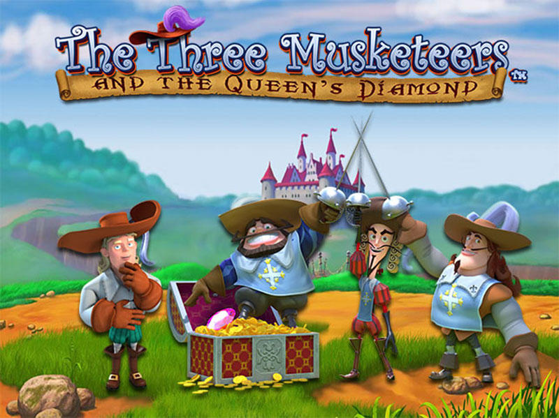 The Three Musketeers and The Queen's Diamonds