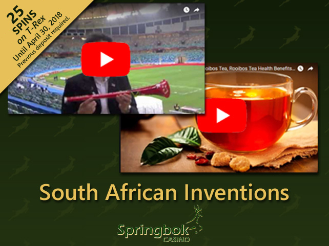Springbok Casino celebrating South Africa