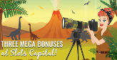 Prehistoric bonuses coming to Slots Capital