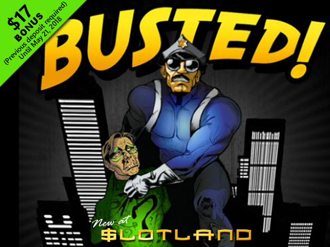 Slotland gets Busted!