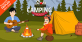 Slots Capital Tripling Deposits thru June, Camping Month