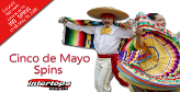 Cinco De Mayo deposit bonuses at Intertops Casino