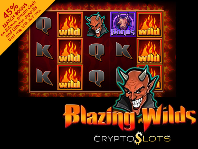 CyberSlots Giving 45% Bonus on Cryptocurrency Deposits for New