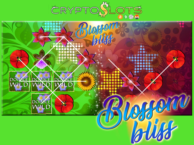 Cryptoslots' New Blossom Bliss is an Extra-Large Slot Game with Split Reels