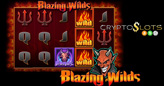 Blazing Wilds, with Fiery Expanding Wild and Scorching Free Spins Bonus, Coming to Cryptoslots