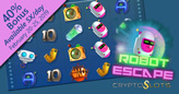 Futuristic New Robot Escape Penny Slot Now at Cryptoslots