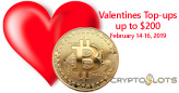 Cryptocurrency Casino Spreading  the Love with up to $200 Valentines Casino Bonuses