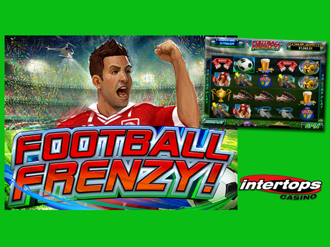 Intertops gets into a Football Frenzy