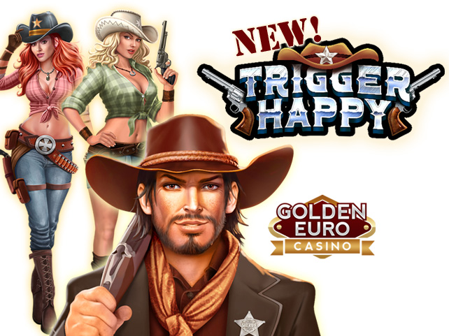 European Online Casino Giving 10 Free Spins on Sexy New Trigger Happy