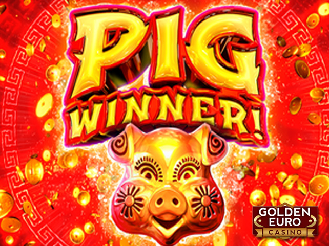 Celebrate Chinese New Year with 20 Free Spins on New Pig Winner Slot at Golden Euro