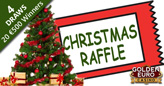 €2000 Christmas Raffles at Golden Euro Casino