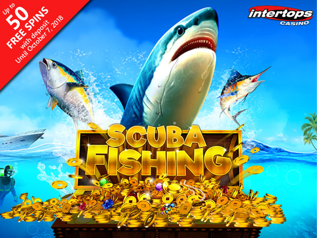 New 3-Reel 'Scuba Fishing' Slot at Intertops has 27-Ways-Pay Feature