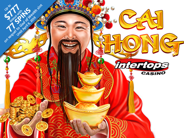 Intertops Casino premieres Cai Hong