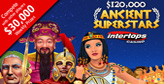 Ancient Superstars now on at Intertops Casino