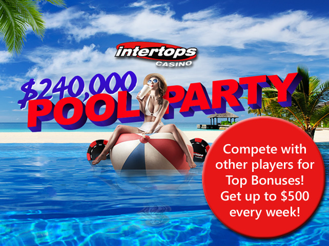 Summer leaderboard campaign at Intertops Casino