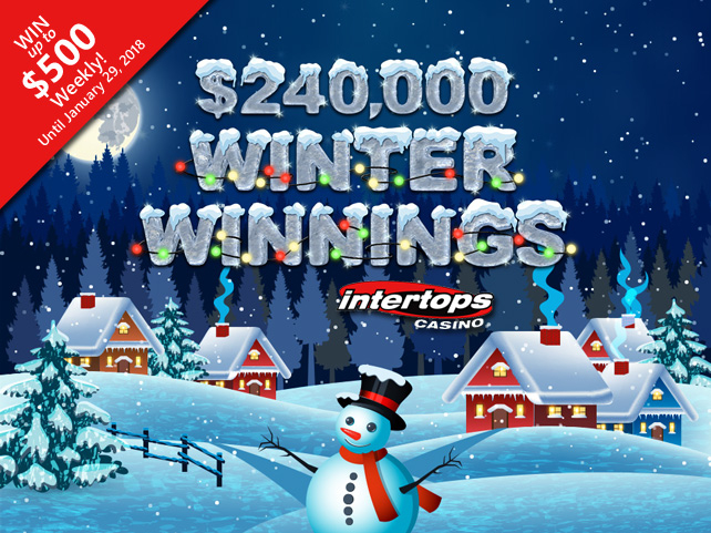 Intertops Casino launches Winter Winnings