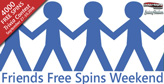 400 Free Spins for Facebook Friends