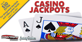 Blackjack and video poker bonuses