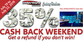 35% Cashback on Busted Deposits this Weekend
