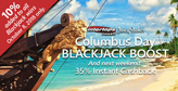 Blackjack Bonus This Weekend, Slots Cashback Next Weekend