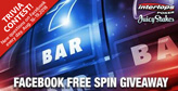 Answer Trivia Questions on Facebook, Win Free Spins at Intertops Poker or Juicy Stakes Casino