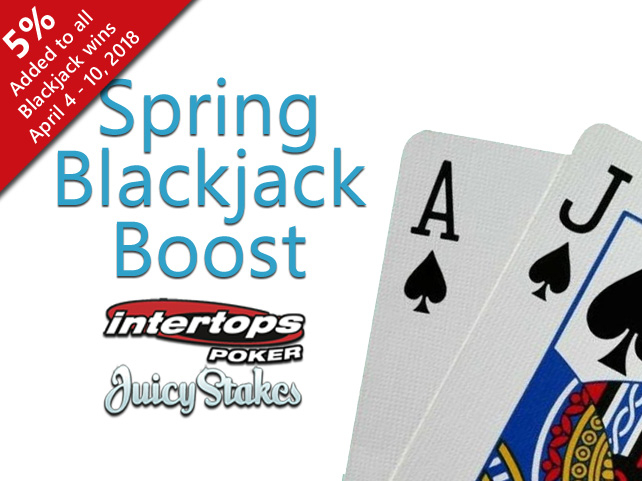 Spring Blackjack Boost starts Wednesday