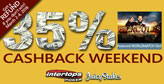 Weekend World Match cash-back on offer