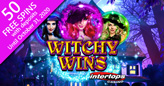 Spellbinding New Witchy Wins has Wild Reels and Multiplying Wilds