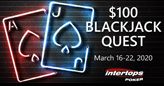 March Blackjack Quest Pays $100 for Series of Winning Hands
