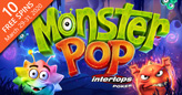 "New Monster Pop ""Cluster"" Slot at Intertops Poker Has a Unique Expanding Grid"