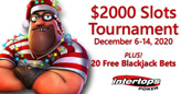 New Christmas Slot Game and a Christmas Classic Featured in $2000 Slot Tournament Starting Sunday