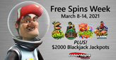 Travel Through Time & Space during Free Spins Week Featuring 4 Popular Betsoft Slots