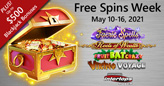 Decadent Reels of Wealth Slot Leads the All-Star Line-up for Free Spins Week