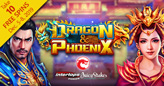 Get 10 Free Spins on New Dragon & Phoenix Chinese Slot from Betsoft
