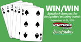 $2000 Blackjack Jackpots -- up to $500 Bonus for Winning Hands