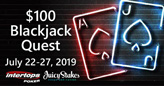 Blackjack Quest Awarding $100 Bonuses for Series of Winning Hands