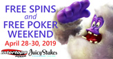 This Weekend Get Free Spins on Betsoft Slots AND Free Poker Tournament Tickets
