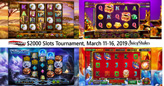 Slots Champs Win Prizes up to $400 during $2000 Slots Tournament
