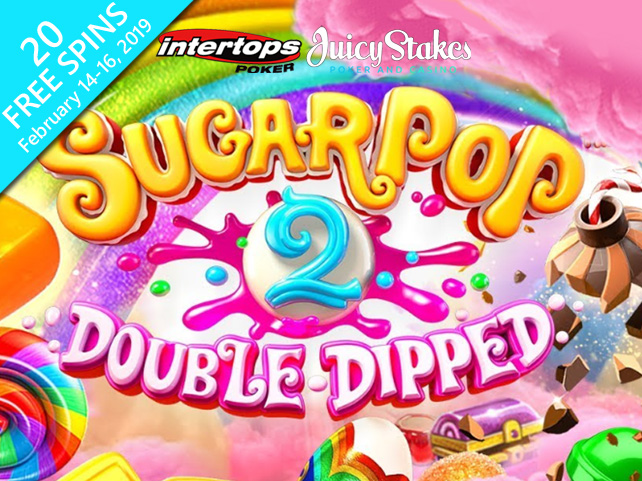 Sweet Treat for Valentines: 20 Free Spins on the Sugar Pop 2 Slot