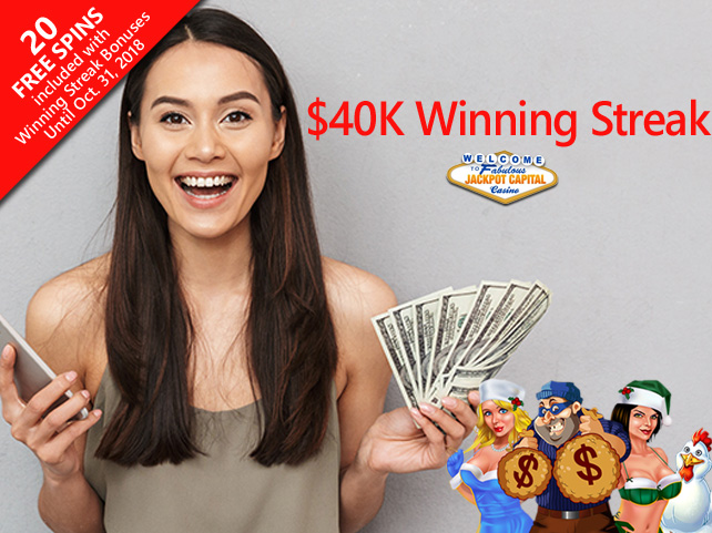 Player Will Pay Some Bills After $40K Winning Streak