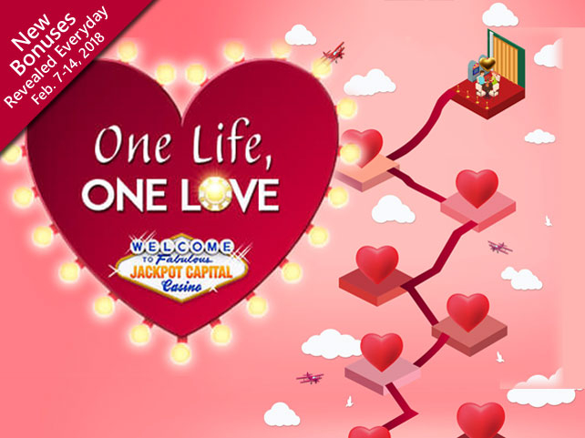 Celebrate love with Jackpot Capital Casino