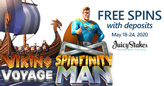 Enjoy Epic Adventures with Free Spins on Two Popular Betsoft Slots
