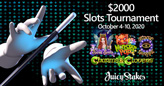 $2000 Slots Tournament at Juicy Stakes Casino Features Four Magical Games