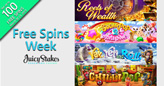 Juicy Stakes Brings Out the Best from Betsoft for Free Spins Week