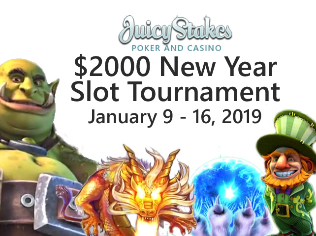 Spin into New Year with $2000 Slots Tournament featuring Betsoft's Best