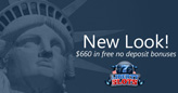 Liberty Slots Casino Celebrates New Look with up to $660 in Free No Deposit Bonuses