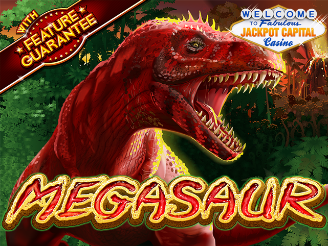Megasaur Roars Into Life at Jackpot Capital