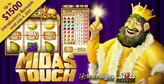 Pair launches new King Midas slot