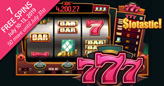 "Slotastic Giving 7 Free Spins on New ""777"" Old-School Slot Game"