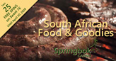 Springbok Casino Presents Unique South African Food:  Braaigroodjies, Koeksisters, Beef Biltong, Droewors & More